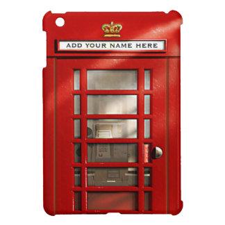 Vintage British Red Telephone Box Personalised