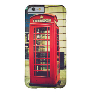 Vintage British Telephone Booth Barely There iPhone 6 Case