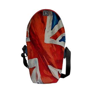 Vintage British Union Jack Flag Commuter Bag