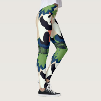 "Vintage ""Brookfield Zoo"" art leggings"