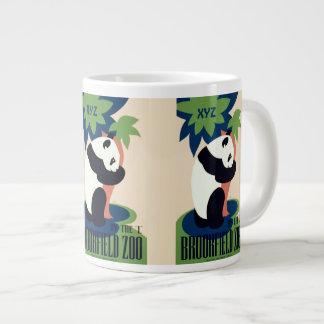 """Vintage """"Brookfield Zoo"""" custom monogram mugs Jumbo Mug"""