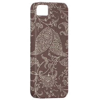 Vintage Brown Paisley Case-Mate iPhone 5 iPhone 5 Cases