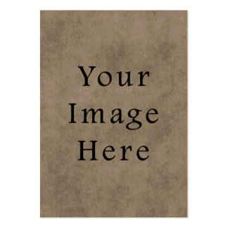 Vintage Brown Parchment Paper Background Template Business Card Template