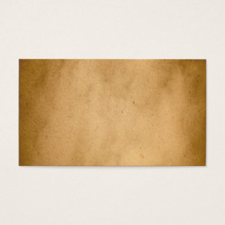 Vintage Brown Yellow Paper Parchment Background Business Card