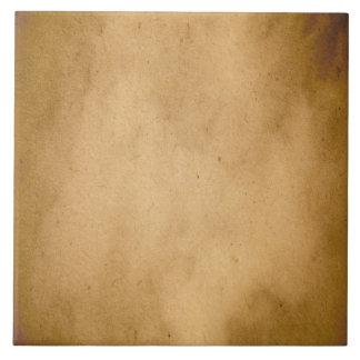 Vintage Brown Yellow Paper Parchment Background Tile