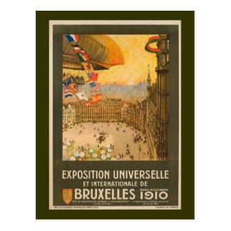 Vintage Brussels Exposition Postcard