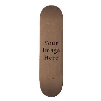 Vintage Buckskin Brown Parchment Paper Background Skate Board Decks