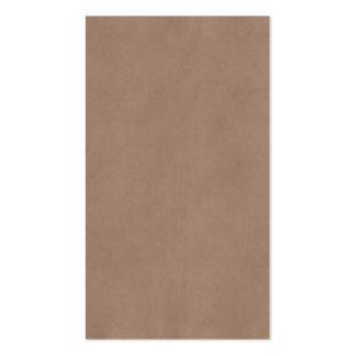 Vintage Buckskin Parchment Tan Brown Antique Paper Double-Sided Standard Business Cards (Pack Of 100)