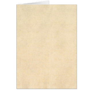 Vintage Buckskin Parchment Tan Brown Antique Paper Card
