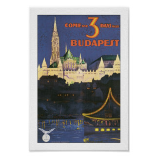 Vintage Budapest Posters