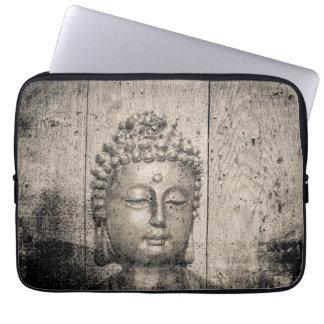 Vintage Buddha Buddhism Yoga Laptop Sleeve