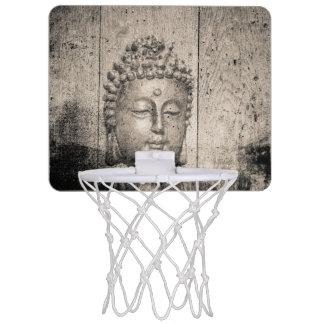 Vintage Buddha Buddhism Yoga Mini Basketball Hoop