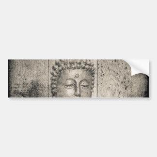 Vintage Buddha Bumper Sticker