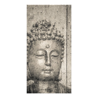 Vintage Buddha Style Custom Photo Card