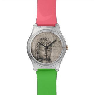 Vintage Buddha Style Wrist Watch