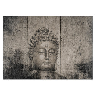 Vintage Buddha Yoga Cutting Board