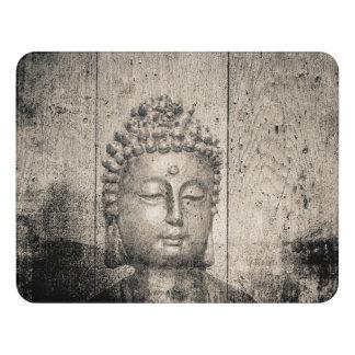 Vintage Buddha Yoga Faith Door Sign