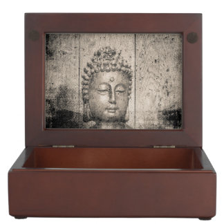 Vintage Buddha Yoga Faith Keepsake Box