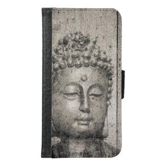 Vintage Buddha Yoga Faith Samsung Galaxy S6 Wallet Case