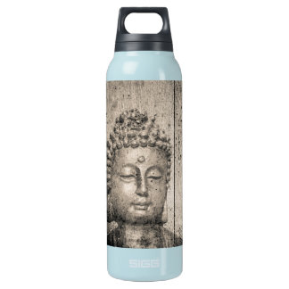 Vintage Buddha Yoga Insulated Water Bottle