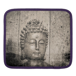 Vintage Buddha Yoga iPad Sleeve
