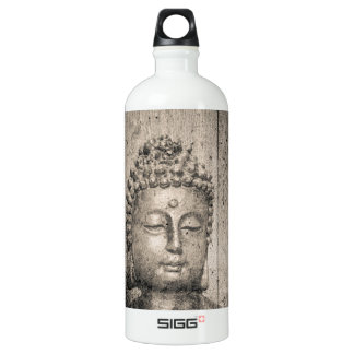 Vintage Buddha Yoga Water Bottle