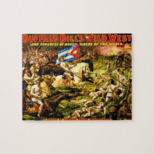 Vintage Buffalo Bill Puzzle