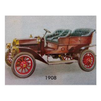 Vintage Buick Postcard