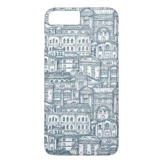 Vintage Building Pattern iPhone 8 Plus/7 Plus Case