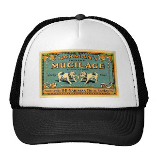 Vintage Bulldog Tape Advertisement Hat