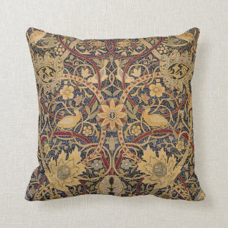 Vintage Bullerswood Tapestry Throw Pillow