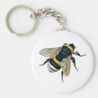 Vintage Bumble Bee Key Chain
