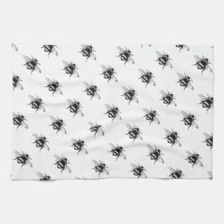 Vintage BumbleBee Tea Towel