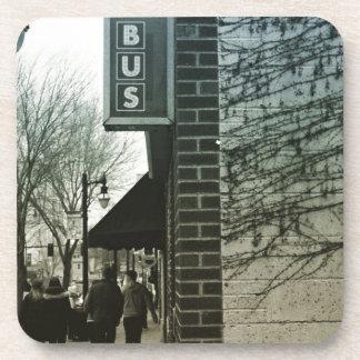 Vintage Bus Stop Coaster
