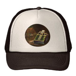 Vintage Business, Accountant Accounting Machine Cap