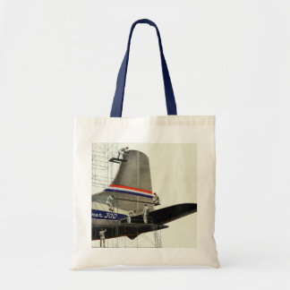 Vintage Business, Airlines Airplane Maintenance Budget Tote Bag