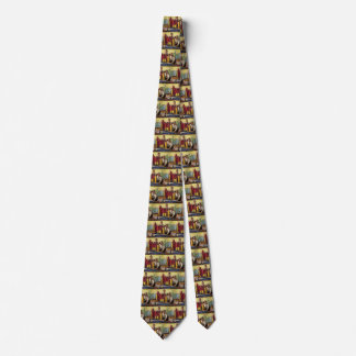 Vintage Business, Architects Working in an Office Tie
