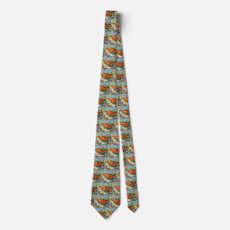 Vintage Business, Customers at a Family Restaurant Tie