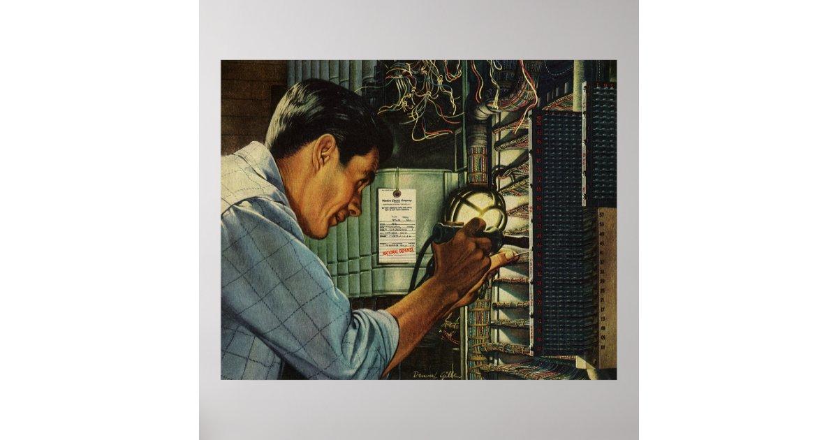 vintage circuit breaker panels