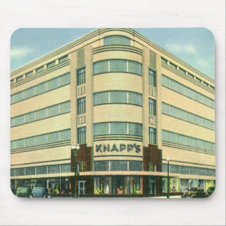 Vintage Business, Knapp's Department Store Mouse Pad