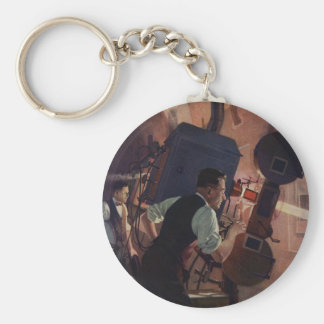 Vintage Business, Movie Theater Projectionist Key Ring