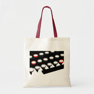 Vintage Business Old Fashioned Typewriter Keyboard Tote Bag