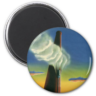 Vintage Business, Steam Whistle Factory Factories Magnet