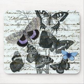 Vintage Butterflies Austen Mousepad