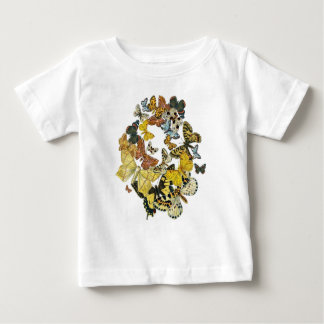 Vintage Butterflies Decoupage Tshirts