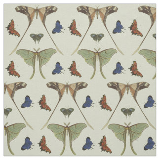 Vintage Butterflies Fabric