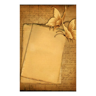 Vintage Butterflies Stationery