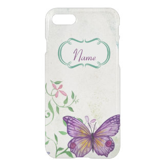 Vintage Butterfly Floral iPhone 7 Case