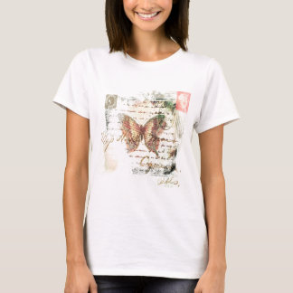 Vintage butterfly mail T-Shirt
