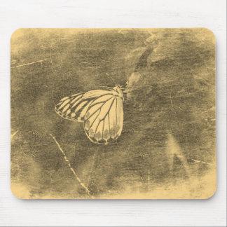 Vintage Butterfly on Flower #2 Mousepad